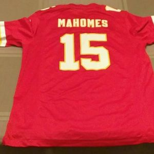 Patrick Mahomes Nike on field jersey